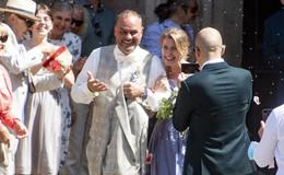 Promihochzeit in der Barockstadt: Schauspielerin Valerie Niehaus hat geheiratet