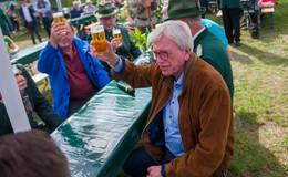 Bouffier (CDU) & Ramelow (Linke): Regierungschefs auf dem Schützenfest
