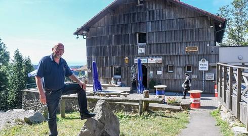 Schorsch Koch - seit 30 Jahren auf dem schönsten Arbeitsplatz Hessens