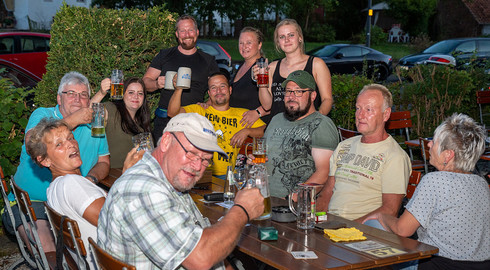 Chilliges House-Set beim Music Sommer im Gasthaus Fuldaer Hof