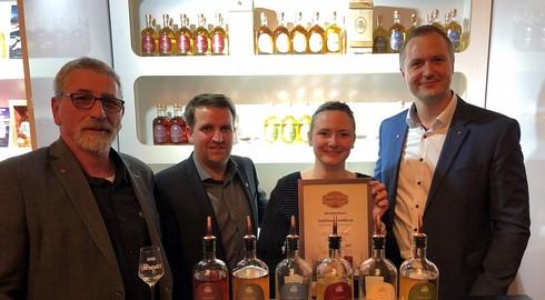 Schlitzer Whisky zum vierten Mal mit einem Whisky Award ausgezeichnet