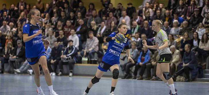 HSG-Damen fegen Fulda aus der Halle - Osthessen News